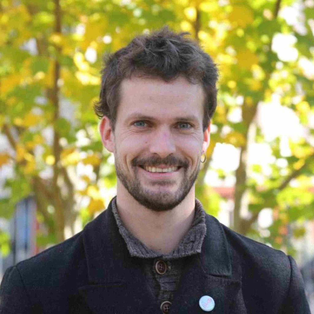 Gwendal Quiguer, élu écologiste de Brest