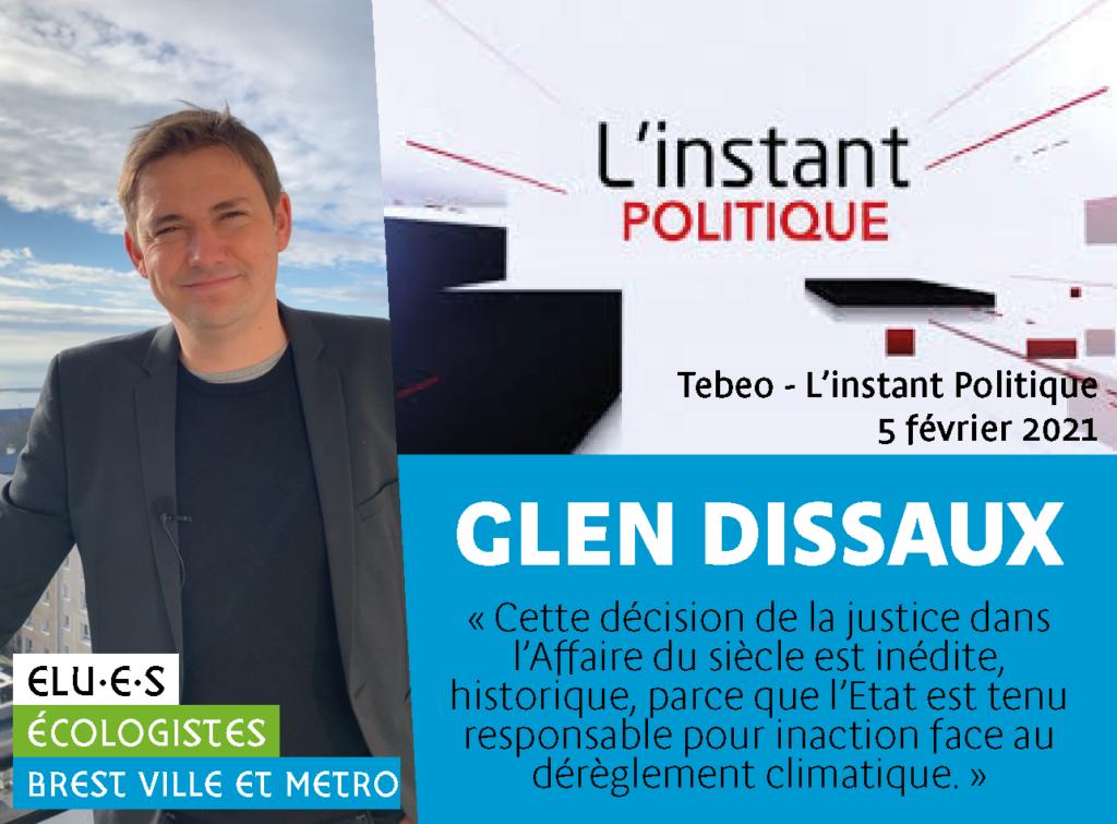 L'Affaire du siècle : Glen Dissaux invité sur Tébéo
