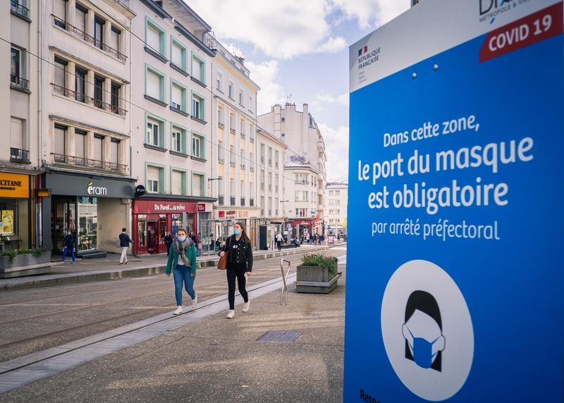 Le port du masque est obligatoire dans les rues de Brest depuis le 15 octobre 2020.