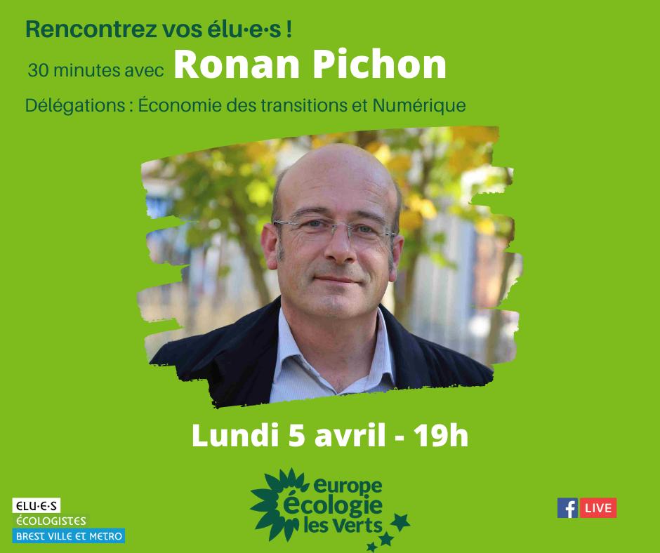 Rencontrez Ronan Pichon, élu écologiste de Brest