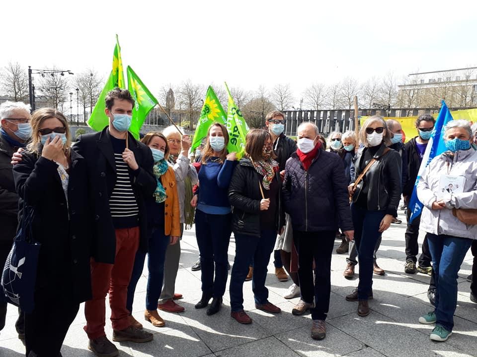 Marche pour le climat à Brest
