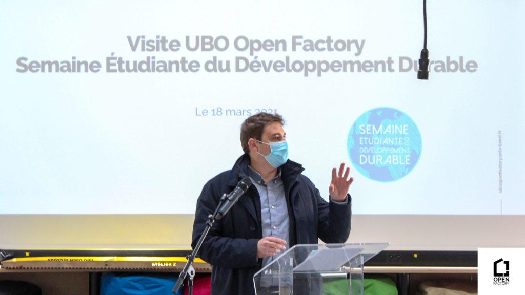 Visite de l'UBO Open Factory