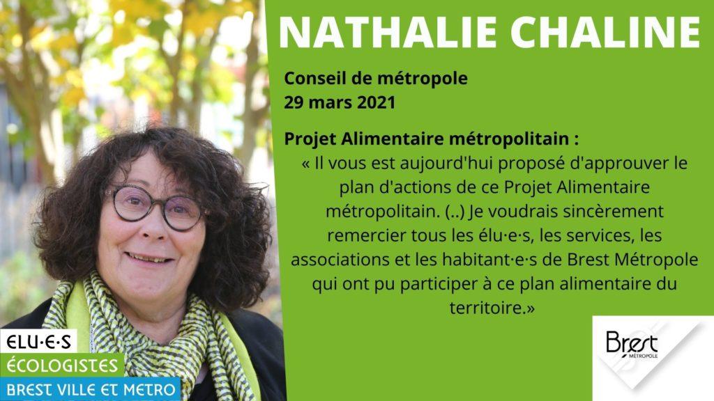 Rencontrez Nathalie Chaline, élue écologiste de Brest