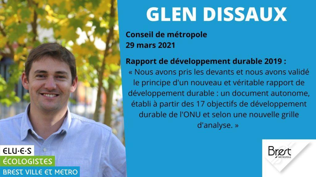 Rapport de développement durable 2019 de Brest