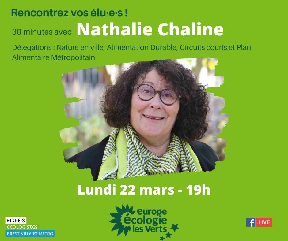 Rencontre Nathalie Chaline, élue écologiste de Brest