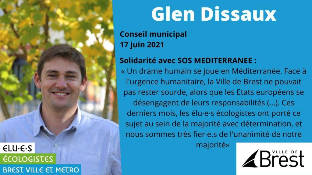 Solidarité avec SOS Méditerranée