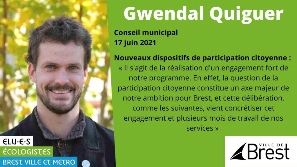 Nouveaux dispositifs de participation citoyenne à Brest