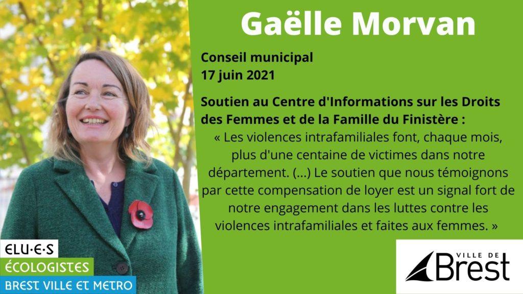 Soutien au Centre d'Informations sur les Droits des Femmes et de la Famille du Finistère (CIDFF)