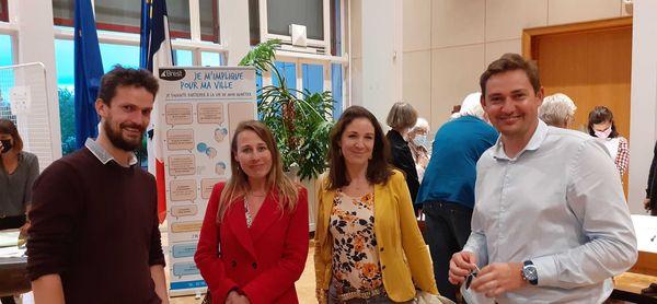 Les élus écologistes étaient présents à l'assemblée de quartier de Brest centre