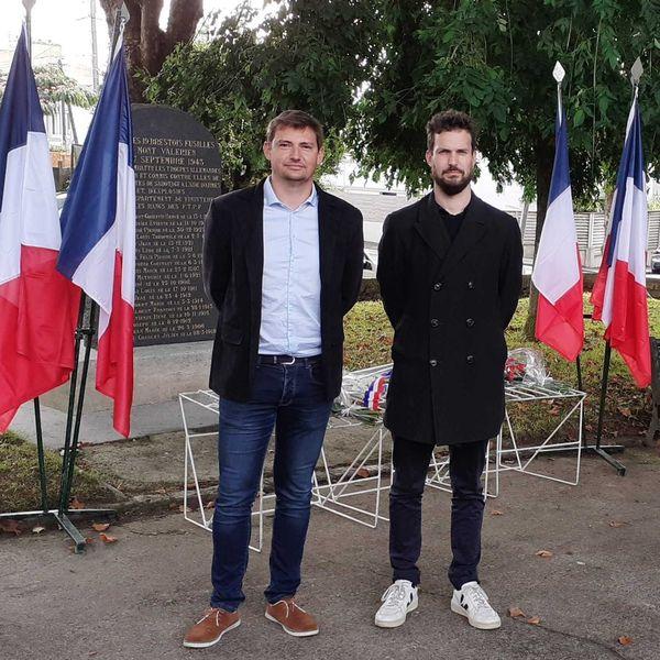 Les élus écologistes de Brest ont assisté aux cérémonies de la Libération et ont rendu honneur aux 19 fusillés brestois