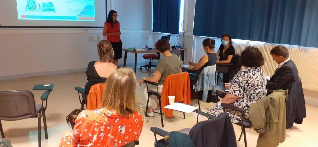 Les élus écologistes de Brest ont participé à une formation originale sur les violences faites aux femmes